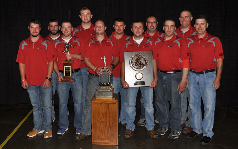 1st Place Mine Rescue overall - Wellmore Coal Co - Red Team - 3