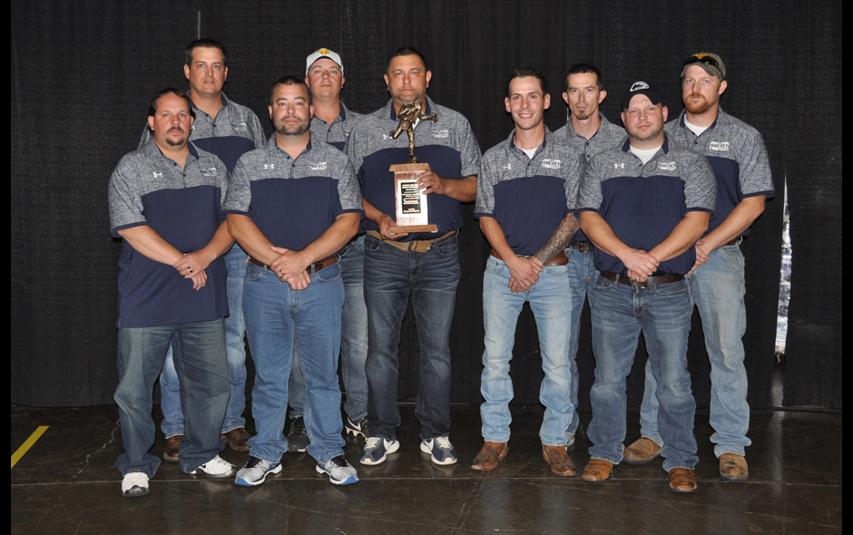 2nd Place Mine Rescue Overall - CNXC Resources Harvey Grey Team - 2