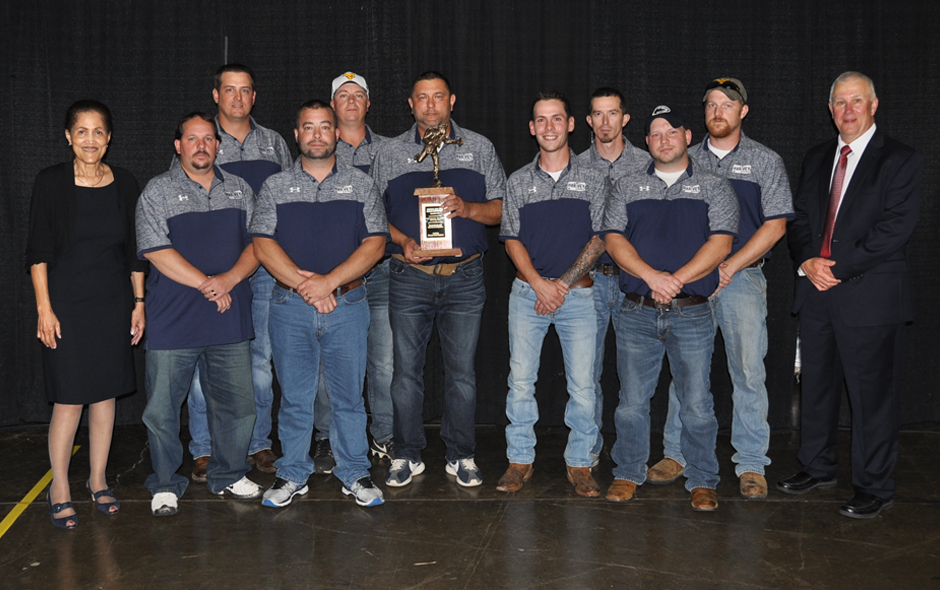 2nd Place Mine Rescue Overall - CNXC Resources Harvey Grey Team -1