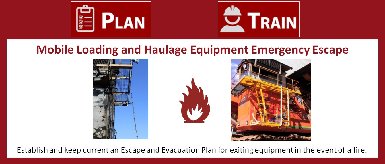 Mobile Loading and Haulage Equipment Emergency Escape