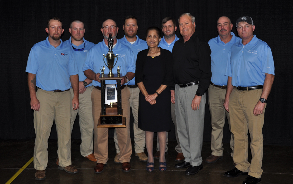 State Awards Alabama - Mine Rescue Drummond Shoal Creek Red Team -  David Crowe, Capt - 2