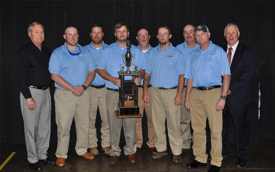 State Awards Alabama - Mine Rescue Drummond Shoal Creek Red Team - David Crowe, Capt - 1