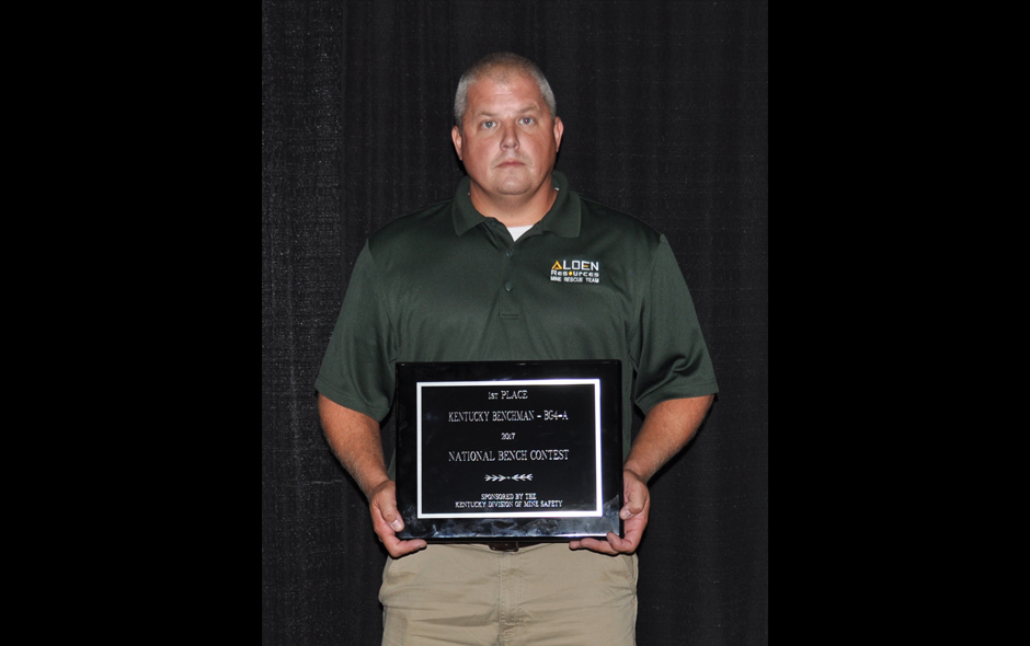 State Awards Kentucky - Bench BG4 - Alden Resources LLC - Travis Truett - 1