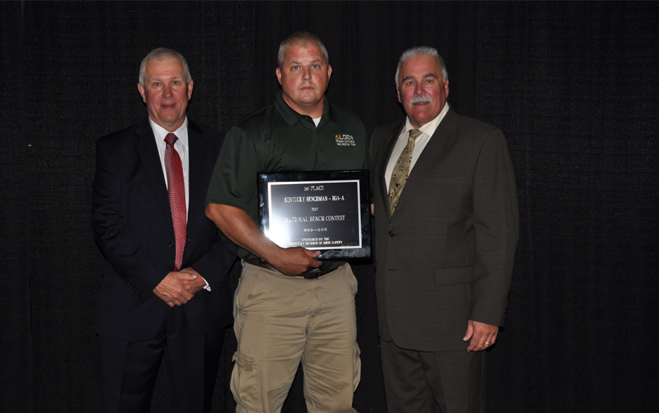 State Awards Kentucky - Bench BG4 - Alden Resources LLC - Travis Truett
