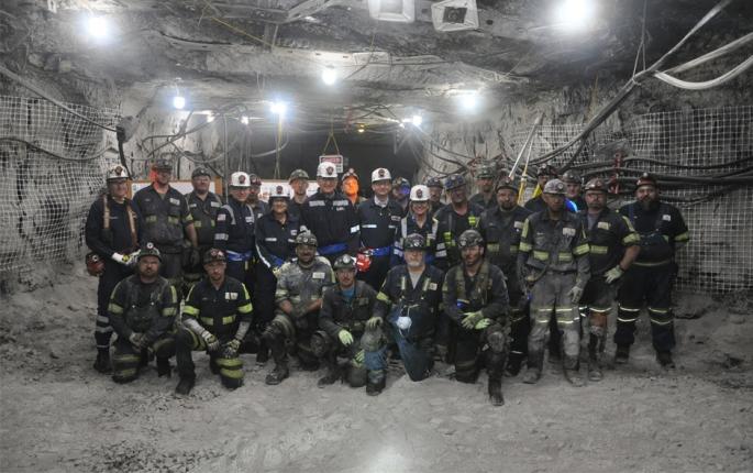 West Virginia's U.S. Senators Join U.S. Secretary of Labor Acosta  for Mine Safety Tour