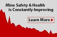Mine Safety and Health is always improving