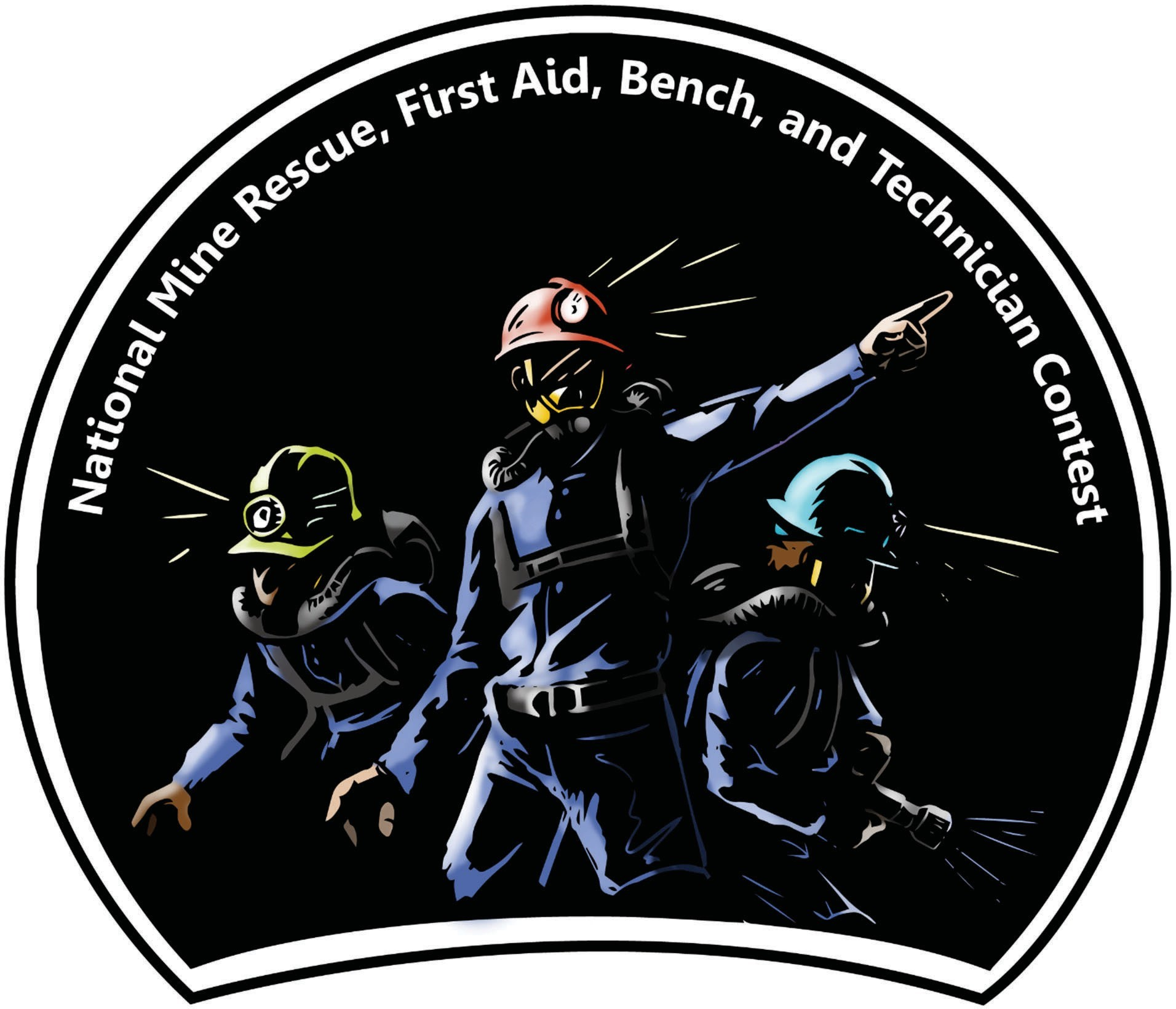 National Mine Rescue, First Aid, Bench, and Technician Contest logo