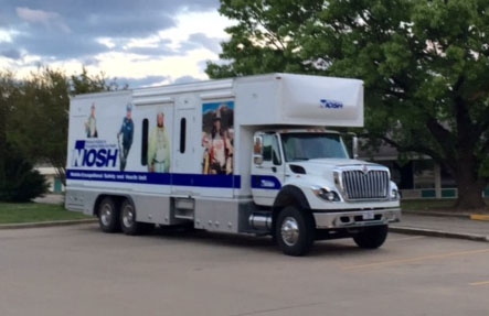 NIOSH's mobile truck