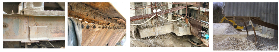 four examples of structural failure