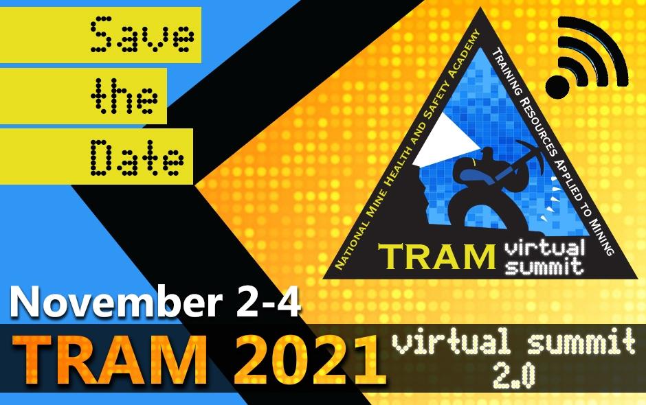 Save the date - 2021 TRAM Virtual Summit