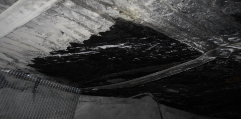 From January 2017 to August 2021, the coal mining industry experienced 1,967 roof and rib accidents.