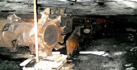 Continuous mining machine