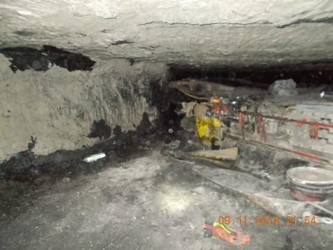 Coal Fatality #6 scene