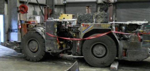 Photo of the mobile diesel can-setter