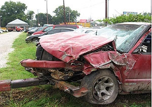 Secnod Photo of Accident Scene Described in the Paragraph Above