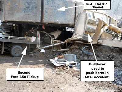 Photo of accident scene