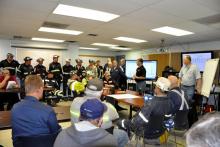 Mine rescue training conference