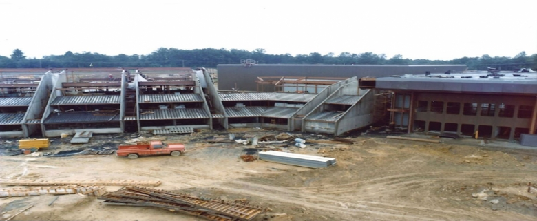 Academy construction - 1975